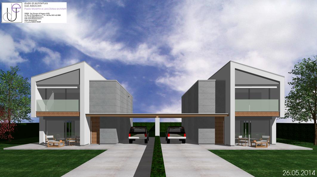 Edificio bifamiliare san giorgio di nogaro ud il mio sito for Prospetti di villette